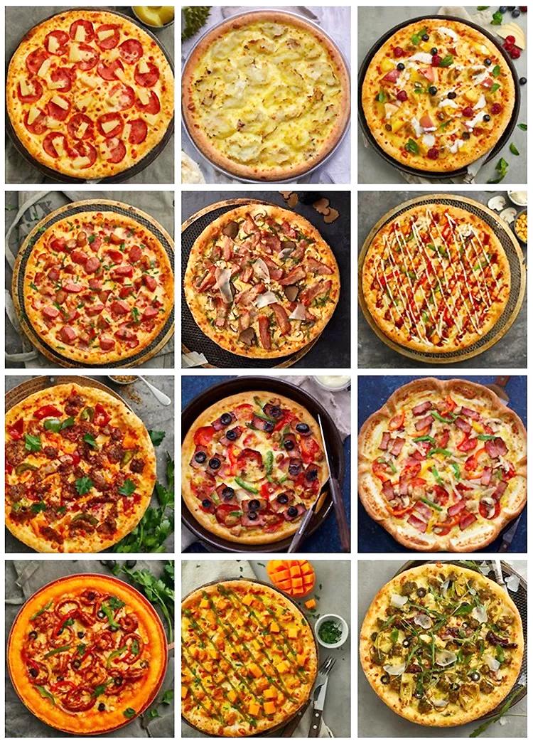 11底酱不唯一   搭配有创意      披萨底酱的选择并不是唯一的