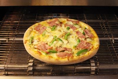 比萨制作过程