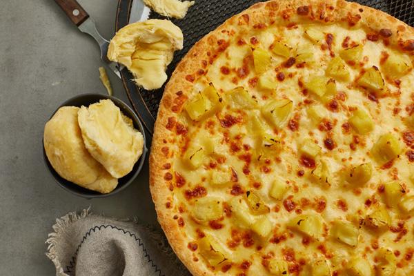纯手工榴莲披萨
