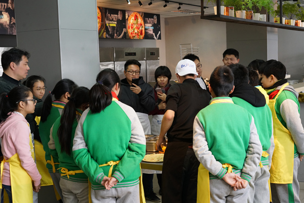 比萨学校访问计划:上海市文来中学